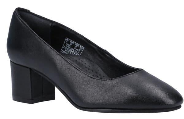 Hush Puppies Anna Court Ladies Shoes Black